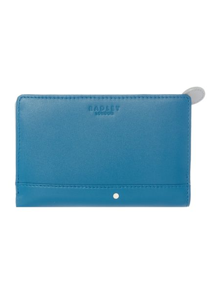 Radley Over the moon blue medium ziparound purse