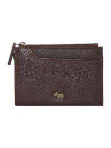 Radley Pocketbag brown small ziparound purse