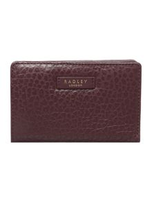 Radley Abbey brown medium ziparound purse