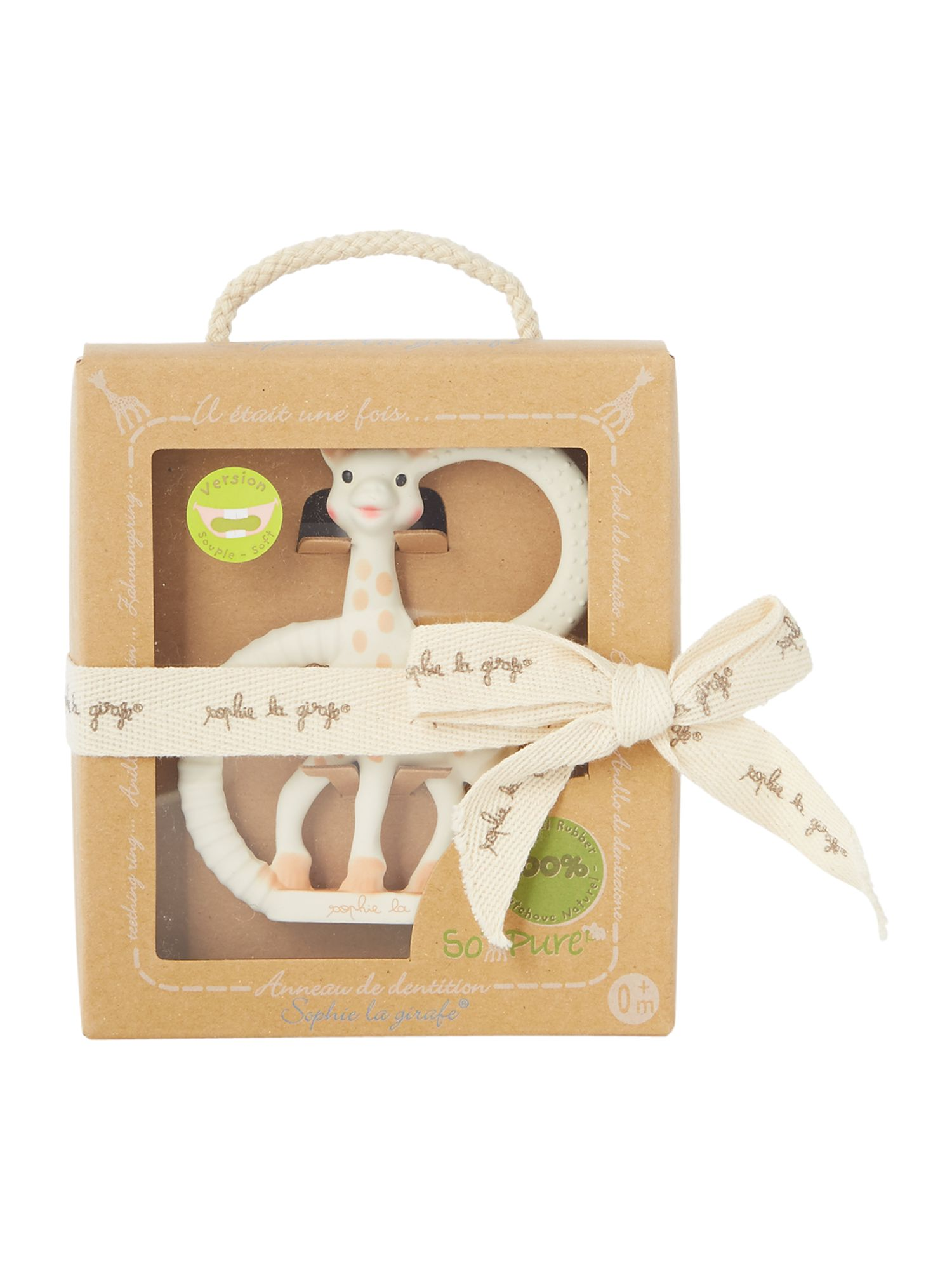 Image of Sophie The Giraffe Baby Soft Teething Ring