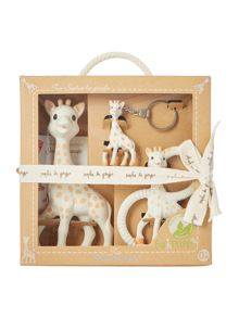 Sophie The Giraffe Baby Three Piece Teething Gift Set