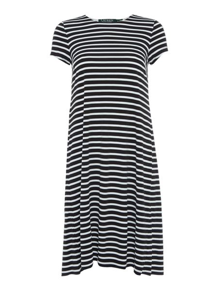 Lauren Ralph Lauren Hiwailani Short Sleeve Dress