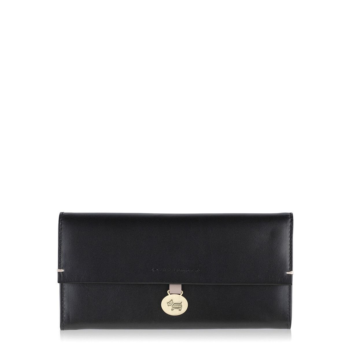 Radley Exbury black large flapover purse Black