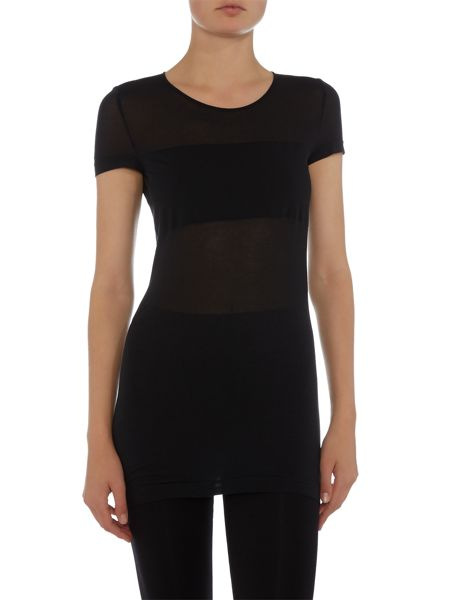 Wolford Opaque Transparent Nature Shirt