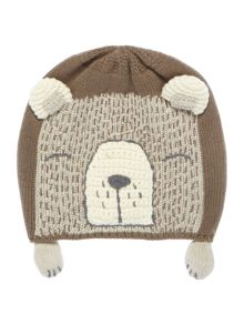 Benetton Babys Knitted Bear Hat