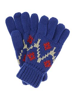 Icefield knitted glove