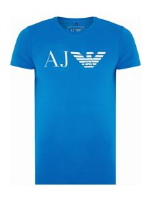 Armani Jeans Regular fit AJ eagle logo printed t shirt
