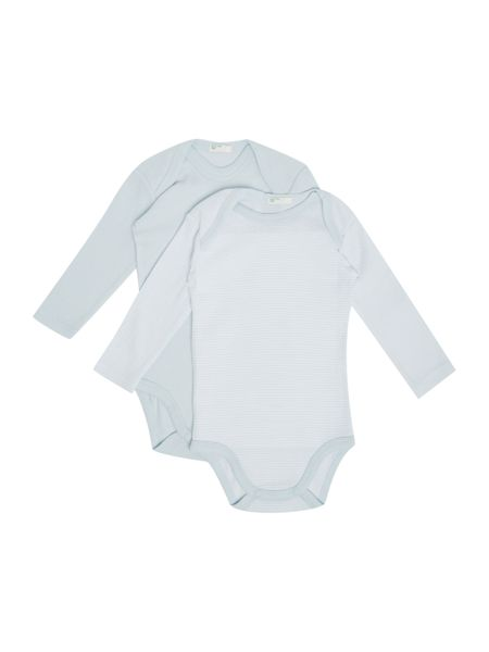 Benetton Boys Longsleeve 2 pack Bodysuit