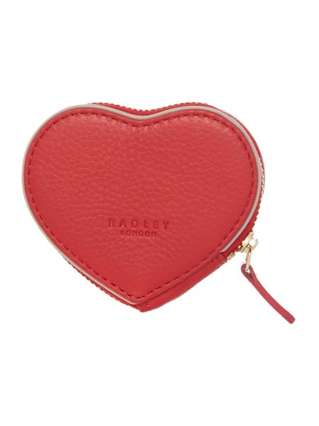 Radley Blair heart red medium purse