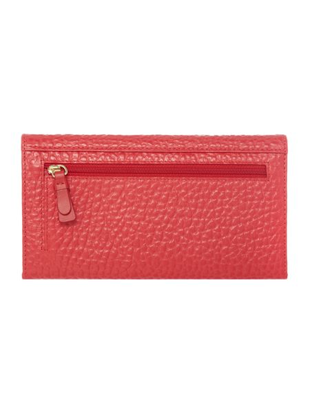 Radley Abbey red large travel wallet