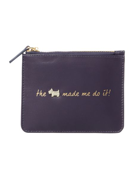 Radley Excuses excuses navy small pouch