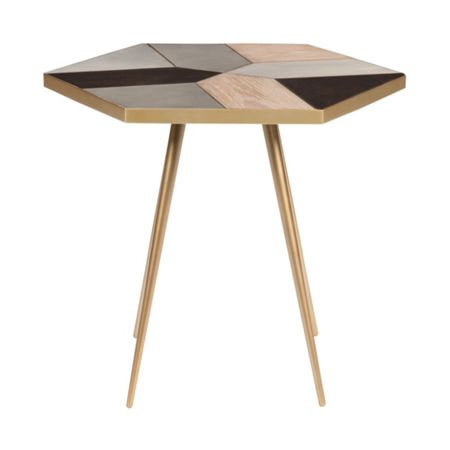 Living by Christiane Lemieux Modus mosaic side table