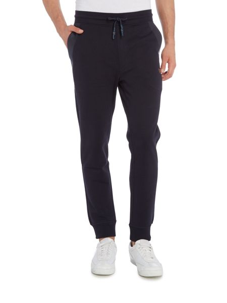 Armani Jeans Rubber detail cuffed joggers
