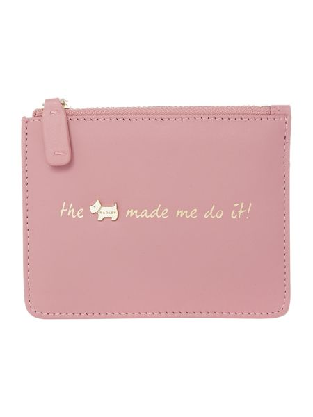 Radley Excuses excuses pink small pouch
