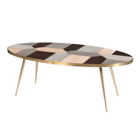 Living by Christiane Lemieux Modus mosaic coffee table