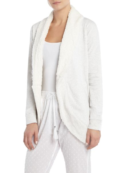 Therapy Shawl Collar Lounge Cardigan