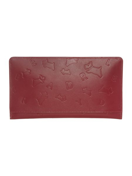 Radley Oriel red large pouch
