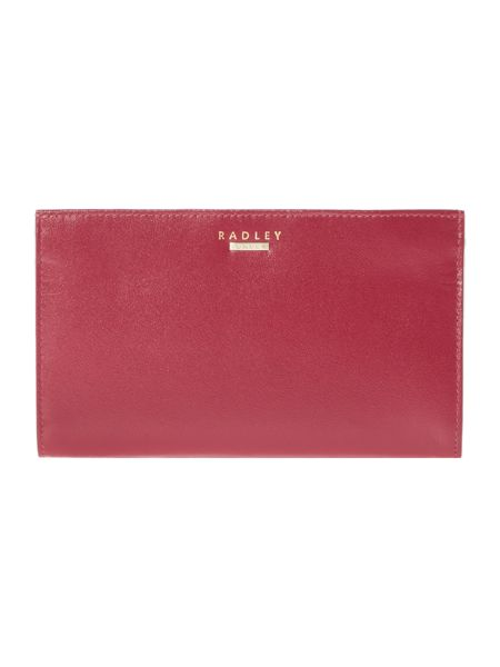 Radley Picadilly red large pouch