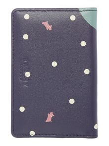 Radley Over the moon navy card holder