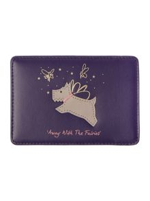 Radley Away with the fairies purple card holder
