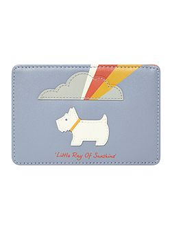 Little ray of sunshine blue card holder