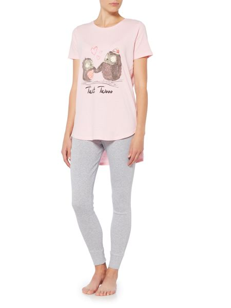 Therapy Owl Pyjama Set