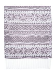 Therapy Xmas Fairisle Scarf