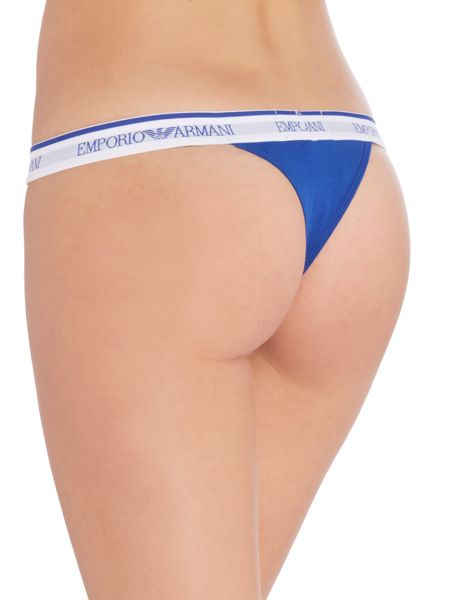Emporio Armani Visibility stretch cotton thong