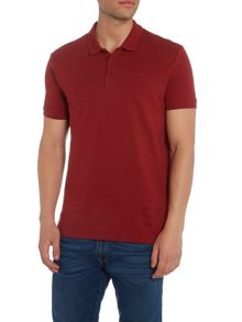Armani Jeans Regular fit short sleeve logo polo shirt