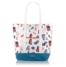 Radley Spell check neutral medium tote bag