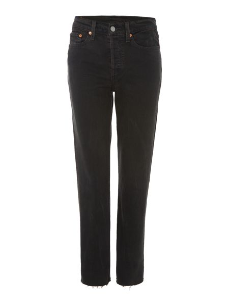 Levi's Wedgie icon fit jean in midnight rain