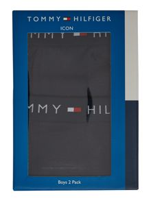Tommy Hilfiger Boys Classic 2 Pack Trunks