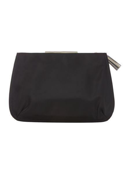 Radley Goswell black large cosmetic bag