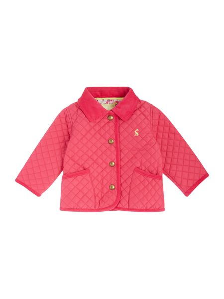 Joules Baby Girls Quilted Jacket