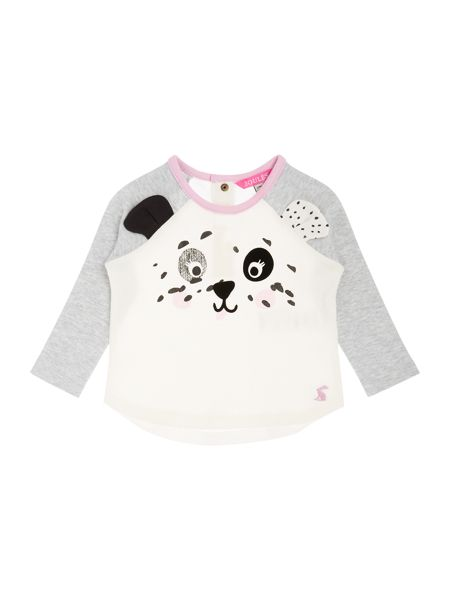Joules Baby Girls Dalmation Print T-shirt