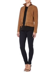 Lauren Ralph Lauren Kiania Leather Jacket
