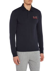 EA7 Long Sleeve Core ID Jersey Polo