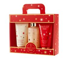 Grace Cole Wild Fig & Cranberry Twinkling Trio Set