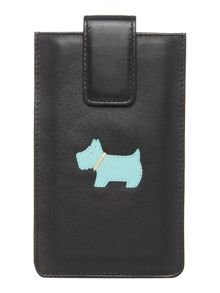 Radley Heritage dog black large iphone 6 case