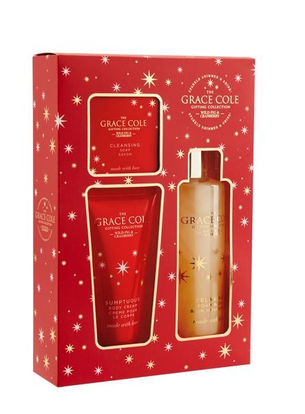 Grace Cole Wild Fig & Cranberry Illuminate Set