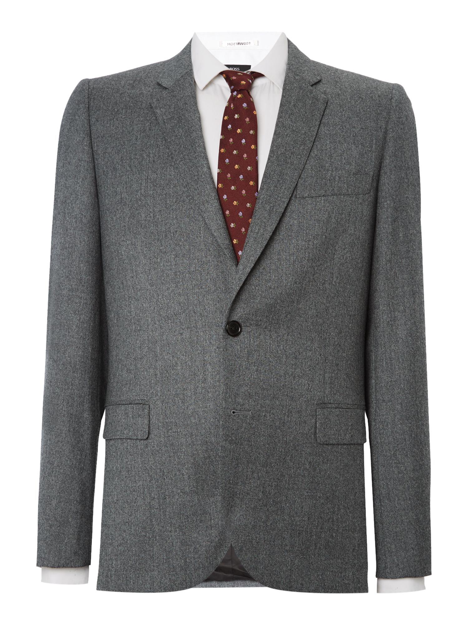 Men's PS By Paul Smith Flannel Suit Jacket, Grey