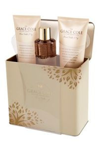 Grace Cole Warm Vanilla & Fig Soothing Sensations Set