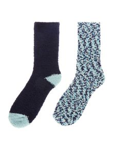 Dickins & Jones Popcorn cozy 2pack socks