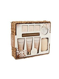 Warm Vanilla & Fig Pure Heaven Basket Set