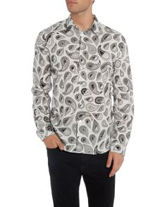 PS By Paul Smith Large Paisley Print Shirt