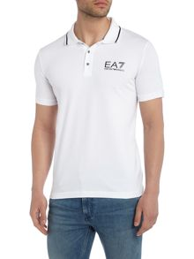 EA7 Short Sleeve Train Core ID Polo