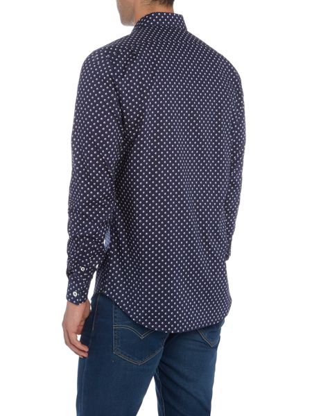 PS By Paul Smith Logo Dot Print Shirt