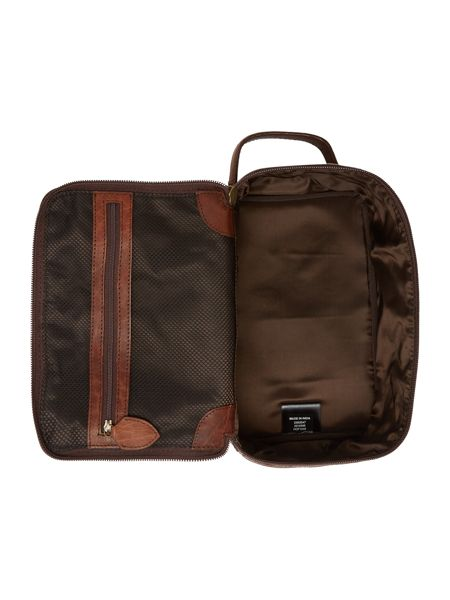 Howick Classic Leather Square Zip