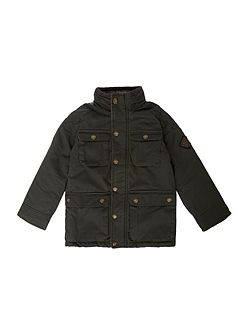 Boys Mock Wax Jacket