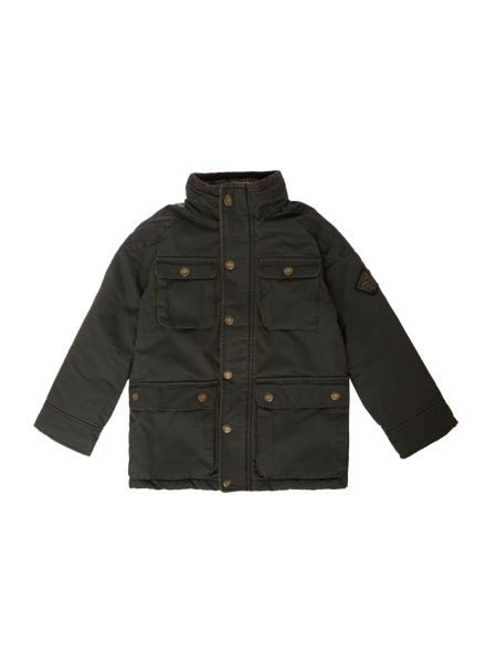 Joules Boys Mock Wax Jacket